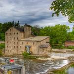 Elora Ontario - Canada - Elora Mill Inn - Reflection thumbnail