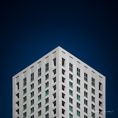 Bright Surface I (Alec Lux) Tags: antwerp antwerpen apartment architecture belgium block building city contrast design flat harbour minimal minimalism modern pattern structure urban white vlaanderen be