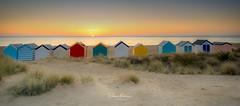 English Beach Huts (deanallanphotography) Tags: england beach sand sunrise huts ngc