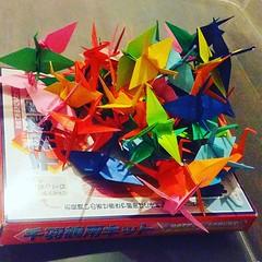 Avancement : 3% ;) #origami #origamiart #papercraft #paper #paperart #craft #paperfolding #grue #crane #senbazuru #origamichallenge #sadakosasaki #hiroshima #1000grues #1000cranes (OrigamiInvasion) Tags: origami paperfolding papercraft paper craft