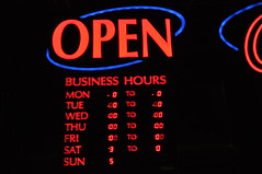 Fast Shutter Speed Open Sign (CBU_Valery_Gomez) Tags: text open
