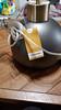 hanginglamp (DSSCCoach) Tags: lampworks pendant light spherical metal lampshade