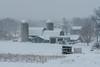 Landscape with a farm (gdajewski) Tags: d750 dajewski nikonafsnikkor24120mmf4edvr nikond750 farm gdajewski landscape snow snowstorm