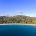 Aerial of Anse Intendance beach, Mahe Seychelles