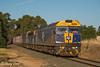 9372 at Moama (Henry's Railway Gallery) Tags: g512 b76 g515 gclass bclass emd diesel clyde cfcla chicagofreightleasingaustralia qubelogistics ricetrain freighttrain containertrain 9372 sunrice deniliquin moama