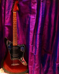 Raise the Curtain (Pennan_Brae) Tags: sixstring musicphotography guitarphotography fenderguitars fenderguitar fenderjaguar fender guitars guitar electricguitars electricguitar