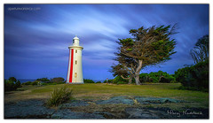 Devonport Lighthouse (Aperture Variance) Tags: ifttt 500px maciej nadstazik aperture variance photos world blue coast lighthouse colour long exposure tasmania bluff mersey devonport australia
