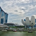 Marina Bay Sands Hotel and Arts and Science Museum in Singapore thumbnail