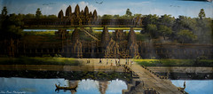Majestic Angkor Wat (kuntheaprum) Tags: cambodianarts crafts painting angkor nikon d750 samyang 85mm f14 nearyrothkunthea