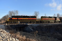 West end switcher (Robby Gragg) Tags: iais sd382 150 silvis