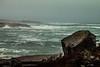 Stormy Peggy's Cove (langdon10) Tags: atlanticocean canada canon70d lighthouse novascotia shoreline storm ocean outdoors rocks waves winter