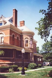Kokomo Indiana - Seiberling Mansion - Architecture - Queen Anne