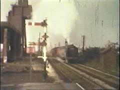 Lostock Hall Breakdown Train (norbet1) Tags: lostockhall preston lancashire north england britain uk railway rail train steam locomotive sixties southport merseyside