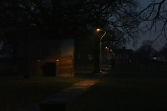 Priestlands Park (doojohn701) Tags: priestlands park dusk lamposts trees toilets path sidcup uk