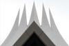 Crown (Maerten Prins) Tags: berlijn duitsland deutschland germany berlin tempodrom white sky lines sharp shard corner pointy abstract symmetry geometry geometric symmetrical curve curves line