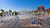 Abu Dhabi, United Arab Emirates: Fountains of the Emirates Palace Hotel (nabobswims) Tags: ae abudhabi emiratespalace fountain hdr highdynamicrange hotel ilce6000 lightroom nabob nabobswims photomatix sel1018 sonya6000 uae unitedarabemirates
