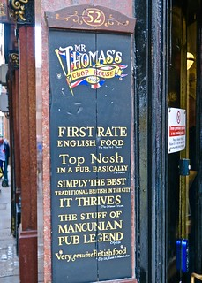 Mr. Thomas's Chop House, Manchester, UK