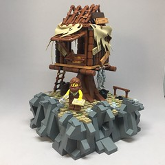 Castaway (lego.insomnia) Tags: lego legomoc moc myowncreation castaway minifigures
