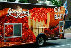 Giordano's (Cragin Spring) Tags: midwest unitedstates usa unitedstatesofamerica city chicago chicagoillinois chicagoil illinois il urban downtown downtownchicago pizza giordanos truck deliverytruck