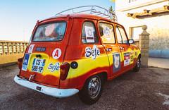Spanish Sete (47/365) (Walimai.photo) Tags: 4l renault francia france marruecos marroc spain españa red rojo amarillo yellow car coche classic clásico lx5 lumix panasonic