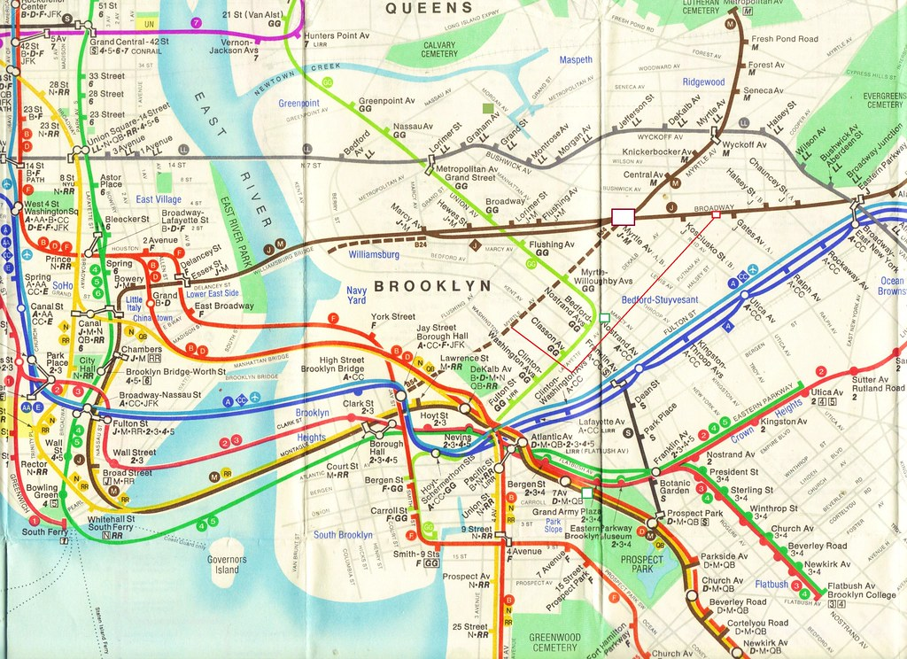 1980 Diamonds Jubilee Subway Map.The World S Most Recently Posted Photos Of 75th And York Flickr