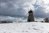 Snow at the Mill (Andy Gibbins Images) Tags: windmill winter snow clouds outdoor architecture landscape cold restoration whitburn tynewear northeastuk