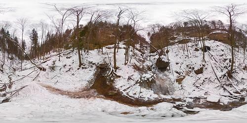 Ebenthaler Waterfall Panorama