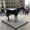 14/01/18 - Black Horse. By Mark Wallinger. (ordinarynomore) Tags: cityoflondon london sculpture statue art horse markwallinger blackhorse