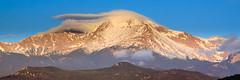 Pikes Peak (Chris Mahoney - AACStudio) Tags: pikespeak lenticular cloud mountain sunrise colorado landscape photography