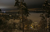 Night view (Leifskandsen) Tags: oslo nature night view visitoslo dark trees national snow winter cold houses ice fjord sandvika camera canon living leifskandsen skandsenimages scandinavia skandsen norway norwegian