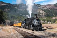 Rockwood (std70040) Tags: durangosilverton denverriogrande denverandriogrande k36 steam steamlocomotive steamtrain steamengine colorado
