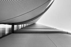 Look Out & See The Morning - London City Architecture by Simon Hadleigh-Sparks (Simon Hadleigh-Sparks) Tags: architecture london lookingup window building monochrome lines grey curve bw blackandwhite city outdoor simonandhiscamera skyscraper tower urban vertical vertigo geometric