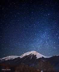 Silence: Somewhere during a cold night (simone_aramini) Tags: nightlight nightscapes nikon naturallight nationalgeografic ngc nature nikond810 landscapes landscape mountain montagna astrophotography
