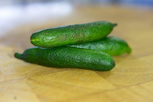Australian finger limes