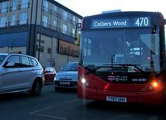 (Ledlon89) Tags: london bus buses tfl transport londonbus londonbuses londongeneral arrivalondon londonuntied metrobus goaheadgroup mitcham londontransport