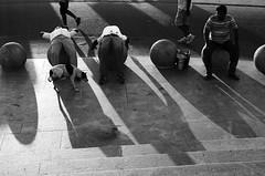 மெரீனா (Kals Pics) Tags: singarachennai incredibleindia morning exercise health fitness lightandlife marinabeach chennai india tamilnadu dog man animal human walk jog activity stones stree blackandwhite streetlife colorless monochrome mylapore triplicane cwc chennaiweekendclickers roi rootsofindia life people kalspics