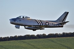 10th October 2010 Duxford (rob  68) Tags: 10th october 2010 duxford north american na f86 a sabre 8178 480178 gsabr fu178 owned by golden apple trust based sold 2014 heritage air us registered nx48178 show display airshow