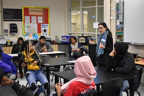 Black Muslims Lesson at Luke C. Moore HS
