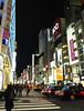 All red lights (DameBoudicca) Tags: tokyo tokio 東京 japan nippon nihon 日本 japón japon giappone ginza 銀座 night natt nacht notte nuit noche 夜 waiting traffic trafficlights taxi