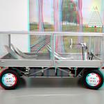 Square car by John Körmeling Boijmans Rotterdam 3D thumbnail