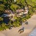 Aerial of Banyan Tree Seychelles