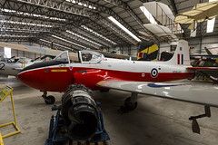 BAC Jet Provost T4 - 2 (NickJ 1972) Tags: yorkshire air museum 2014 aviation hunting percival p84 bac britishaircraftcorporation jet provost t4 xp640 m