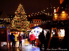 Tallinn, Christmas Market (Sergei Zinovjev) Tags: estonian tallinn eesti estonia oldtown christmas tree raekoda people walking shopping tourist visit visiting lights thebestofworldpicture winter season travel traveling europe flickrtoday