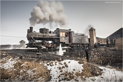 Yinghao Delight (channel packet) Tags: china steam train railway railroad narrowgauge coal mine industry rural c2 locomotive davidhill