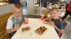 At the mall (Sandy Austin) Tags: panasoniclumixdmcfz70 sandyaustin westauckland auckland northisland newzealand grandchildren mall foodhall