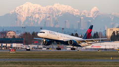 N664DL - Delta Air Lines - Boeing 757-232 (bcavpics) Tags: n664dl deltaairlines boeing 757 aviation aircraft airliner airplane plane charter cyvr yvr vancouver britishcolumbia canada bcpics
