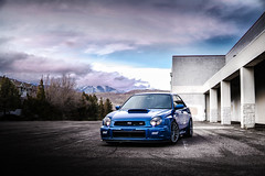 Under the clouds (EloosivVisuals) Tags: wrx sti bugeye prodrive sony