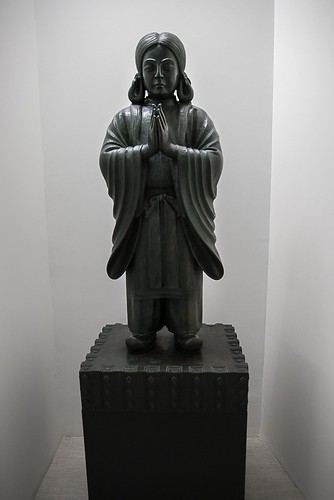 Shinjo Ito's sculpture of Prince Shotoko