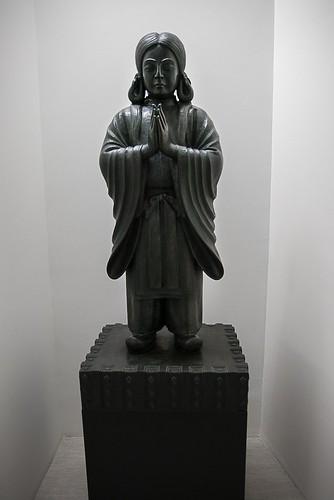 Shinjo Ito's sculpture of Prince Shotoko