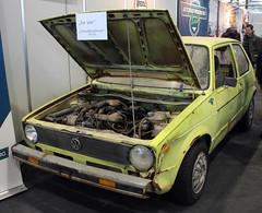 Rabbit (Schwanzus_Longus) Tags: bremen classic motorshow german germany old vintage car vehicle vw volkswagen compact hatchback rabbit golf